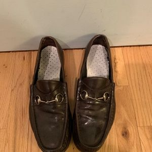 Gucci size 11.5 loafer mens